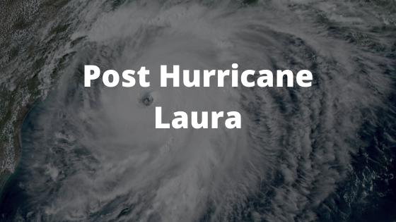 Post Hurricane Laura